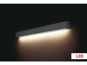 STRAIGHT WALL LED graphite L 9616 Nowodvorski