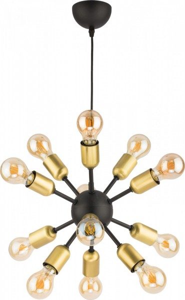 ESTRELLA black XII 1469 TK Lighting