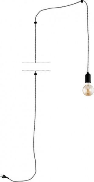 QUALLE black I 2204 TK Lighting