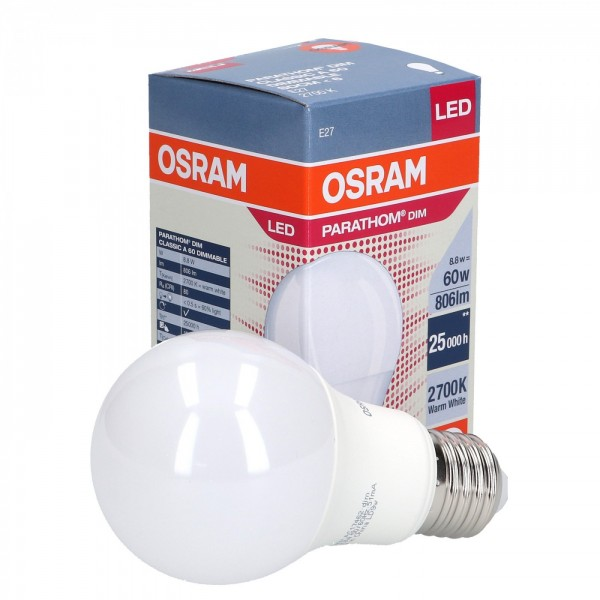 LED 8.8W E27 DIMMABLE  OSRAM