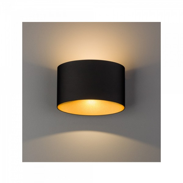 ELLIPSES LED black-gold 8181 Nowodvorski