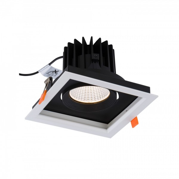 CL DIA LED 30W 4000K white-black 8718 Nowodvorski
