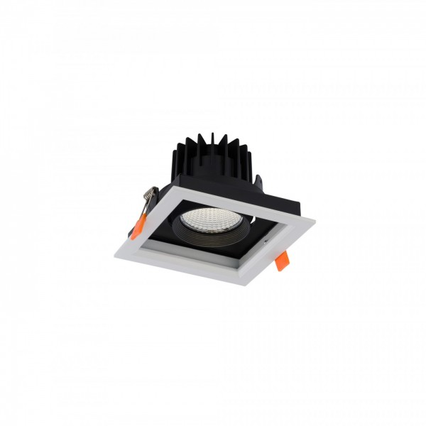CL DIA LED 18W 3000K white-black 8722 Nowodvorski