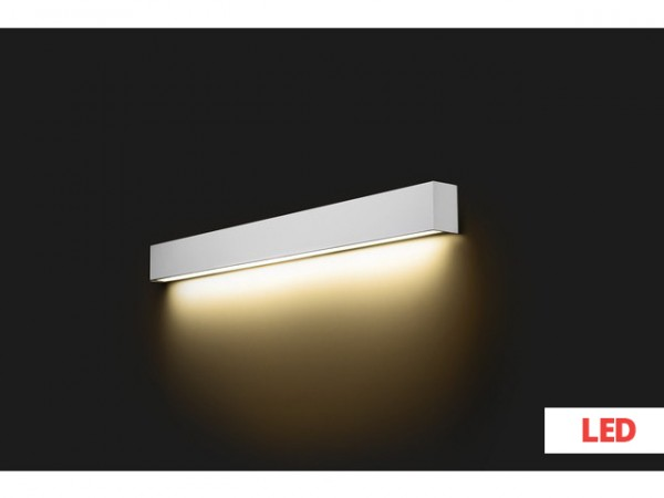 STRAIGHT WALL LED silver L 9615 Nowodvorski