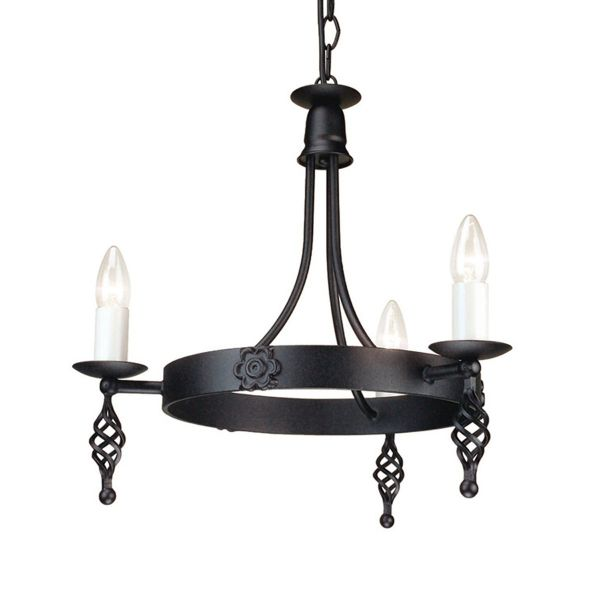 BELFRY black BY3 BLACK Elstead