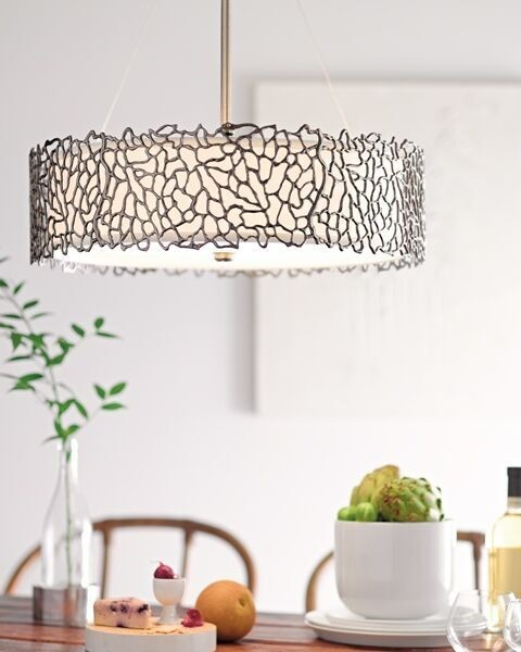 SILVER CORAL classic pewter KL/SILCORAL/P/B Kichler