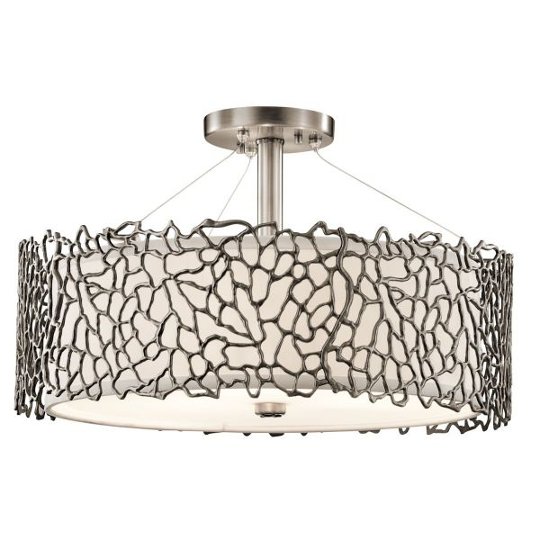 SILVER CORAL classic pewter KL/SILCORAL/P/A Kichler
