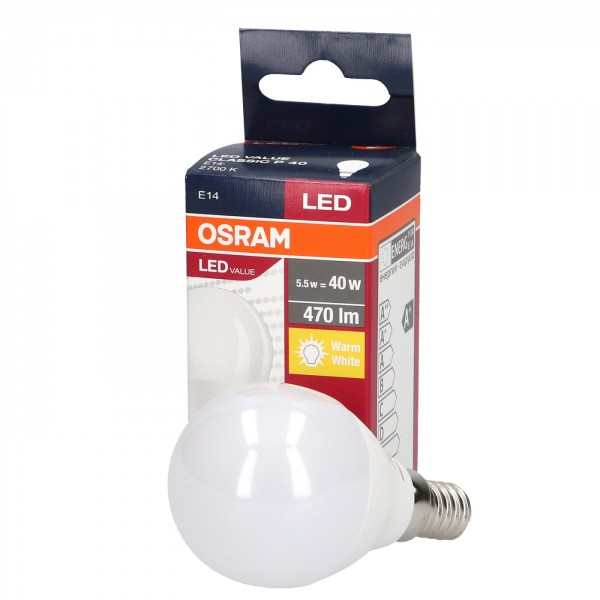 Led Value 5.7W E14 P40 OSRAM