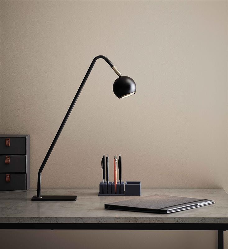 Nowoczesny lampa biurkowastołowa COCO black biurkowa 107340 Markslojd | ImperiumLamp.pl Nowoczesne lampy biurkowe oraz stołowe!