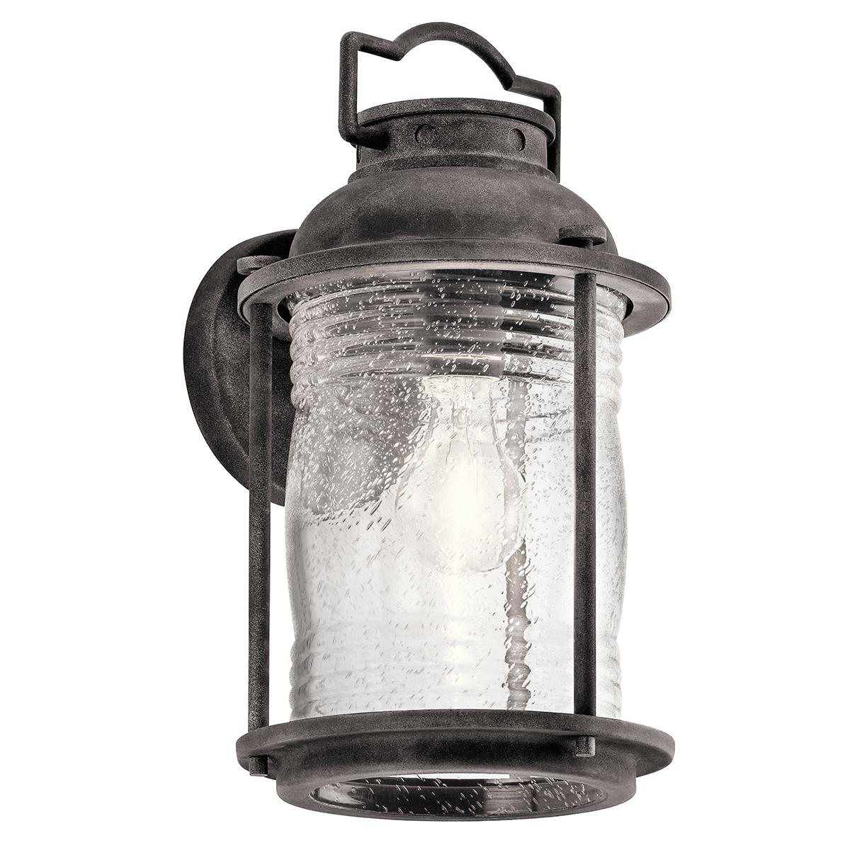 Ashland Pedestal Lantern In Weathered Zinc: Lampa ASHLAND BAY Weathered Zinc KL/ASHLANDBAY2/M Kichler