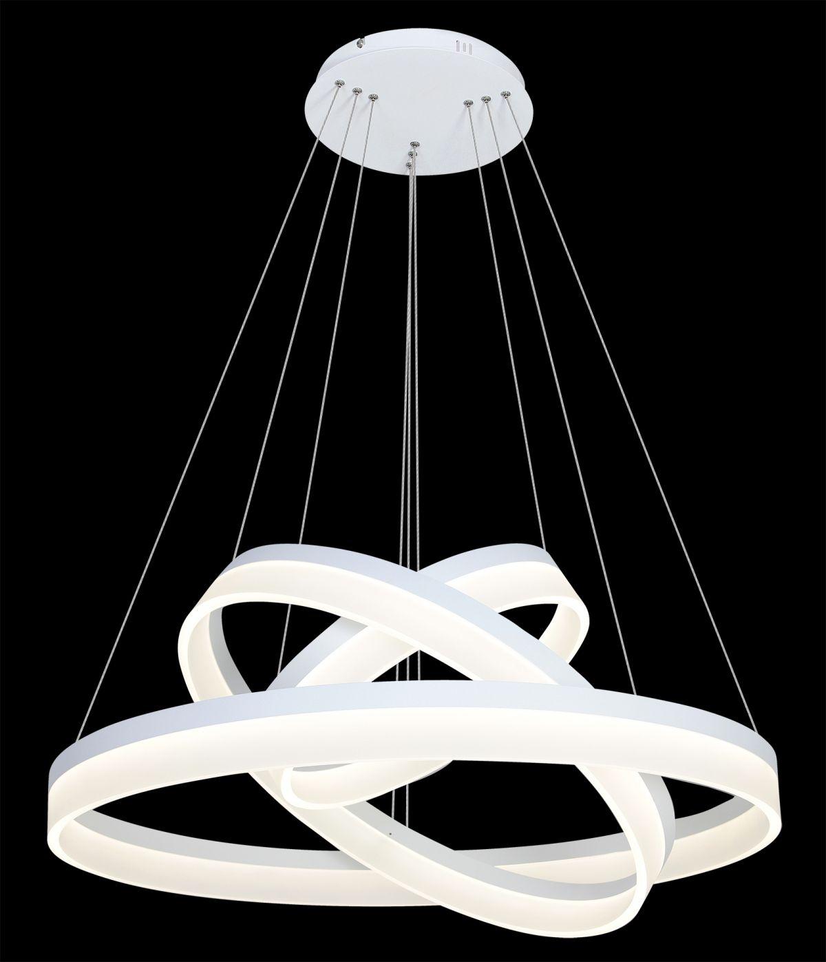 Nowoczesny żyrandol Ring Led 408 Milagro Imperiumlamppl